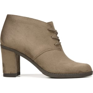 65c01e08ed60 Dr. Scholl s Women s Later Lace Up Booties (Stucco Microfiber) from ...