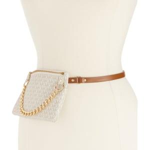 Michael Kors Belt Bag With Pull Chain from Dillard s. 512920249e59b