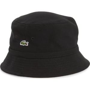 e4df5fb1 Men's Lacoste Bob Bucket Hat - Black from Nordstrom.