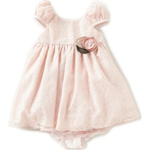 558be348a7721 Laura Ashley London Baby Girls Newborn-24 Months Lace A-Line Dress ...