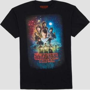 4eba9a84cf Men's Stranger Things Big & Tall T-Shirt - Black 4xlt from Target.