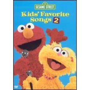 Sesame Street: Kids' Favorite Songs 2 Dvd