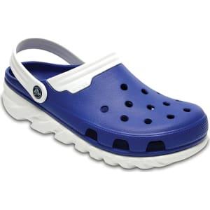 f3e2ab7881b1f Crocs Blue Jean White Duet Max Clog Shoes from Crocs.