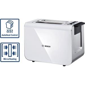Bosch Toaster Tat8611gb Styline 2 Slice White From