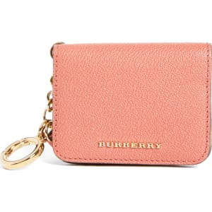 ca66d588078 Women's Burberry Camberwellid Leather Card Case Bag Charm - Red from ...