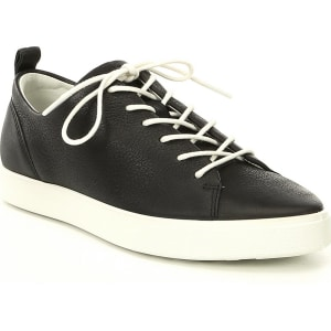ECCO Women's Gillian Leather Lace Up Sneakers