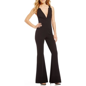 Gianni Bini Amy Deep V Jumpsuit From Dillards