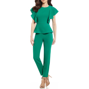 Antonio Melani Munna Flutter Sleeve Jumpsuit From Dillards