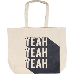 Foundation Typo Difference Tote Bag Yeah Yeah Yeah From Cotton On