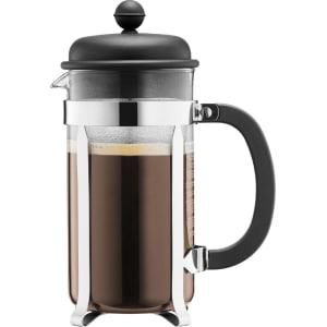 Bodum Caffettiera Coffee Maker 8 Cup Black