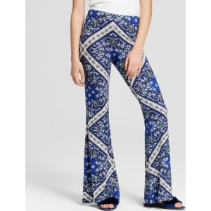 d9225690d9a1d Women's Bandana Print Leggings - Xhilaration Blue M from Target.