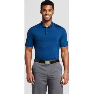 9aa04bb09 Men's Stripe Golf Polo Shirt - C9 Champion - Dark Night Blue M from ...