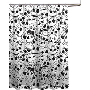 Jack Skellington Shower Curtain From Disney Store