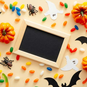 WE ART! - Halloween Picture Frame