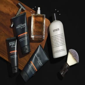 FREE Men's Fragrance + Gel With Any Purchase