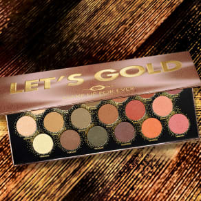NEW Let's Gold Palette
