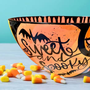 Sweet & Spooky Candy Bowl