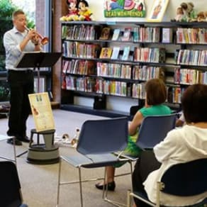 Annapolis Symphony Orchestra at the Library - Violin