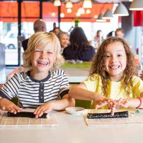 Kids eat free*