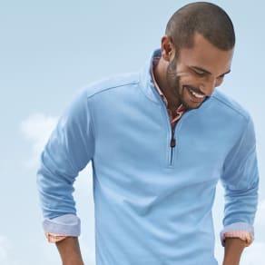 Martinique Half-Zip + Newport Coast Shirt = $199