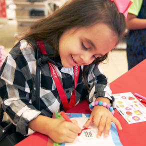 Father's Day Activity at the JCPenney Kids Zone