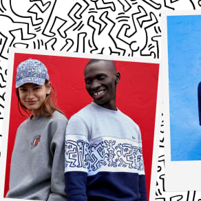 Lacoste x Keith Haring Collaboration