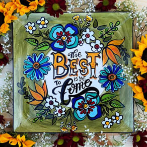 """""""The Best Is Yet To Come"""" Platter"""