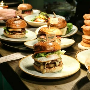 2 burgers for £12*