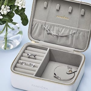 FREE Jewelry Case with a $125 PANDORA Purchase