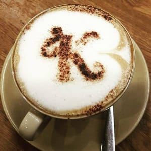 Get any hot drink half price*