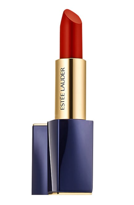 We love this bold red Estée Lauder lipstick, £25, John Lewis