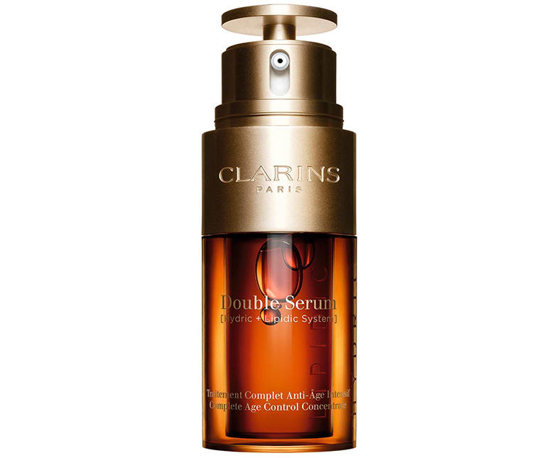 clarins double serum anti aging