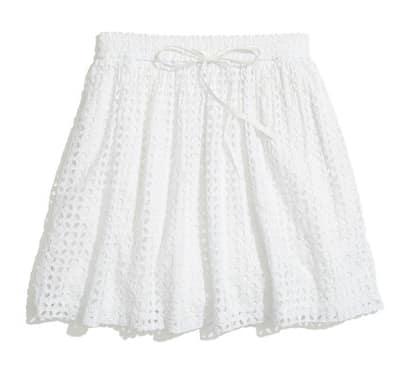 Bayfront Eyelet Skirt | Madewell