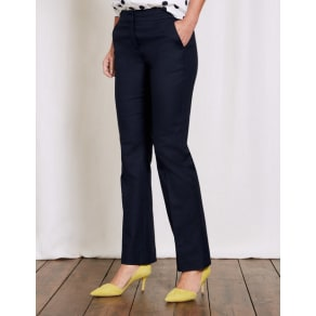 Richmond Bootcut Trousers Blue Women Boden