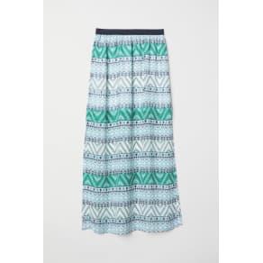 H & M - Long skirt - Green