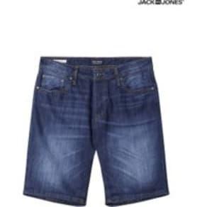 Mens Jack & Jones Denim Shorts -  Blue