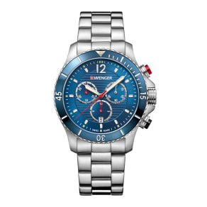 Wenger Seaforce Chrono Men's Stainless Steel Bracelet Watch
