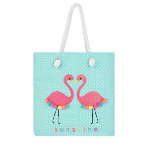Sequin Felicity Flamingo Shopper