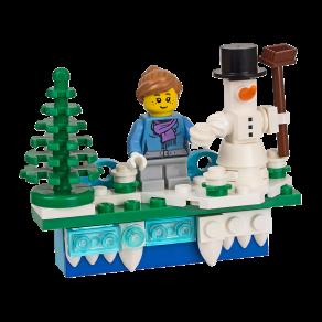 LEGO Iconic Holiday Magnet