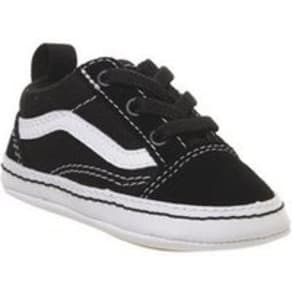 0597d14d39f453 Vans Old Skool Crib BLACK TRUE WHITE