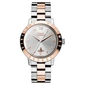 Vivienne Westwood Ladies' Two Colour Bracelet Watch