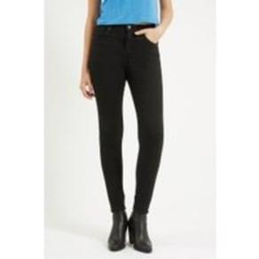 Womens Tall Moto Black Jamie Jeans - Black, Black