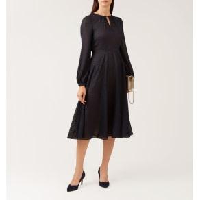 Claudette Dress Navy 18