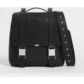 Clip Leather Backpack