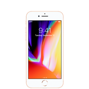 Apple iPhone 8 - 256GB - Gold - Mobile Phone - with installment plan