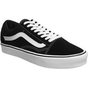 Vans Old Skool BLACK WHITE LITE