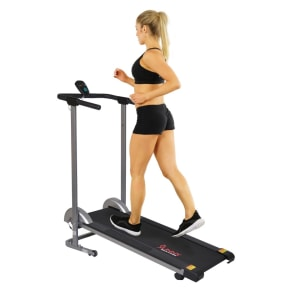 Sunny Health and Fitness (SF-T1407M) Manual Walking Treadmill