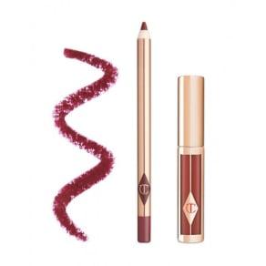 Charlotte Tilbury Luscious Lip Slick Matte Lipstick & Lip Liner - Berry