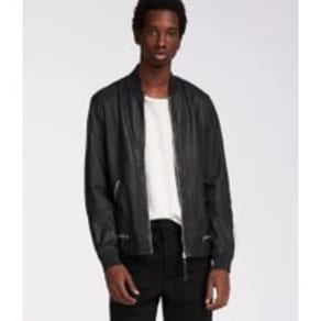 1869b3bd66a2 Madden Leather Bomber Jacket
