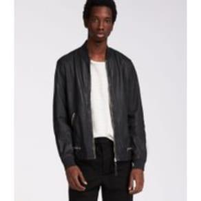 Madden Leather Bomber Jacket
